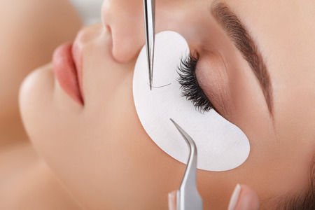 Professional Eyelash Extensions, Mink lashes and Brow wax along with a brow wax provided at our beauty salon.