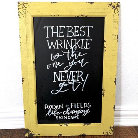 R+F Chalkboard