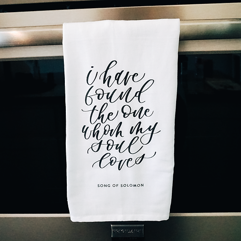 Song of Solomon Tea Towel