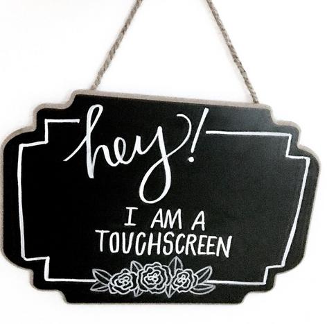Touchscreen Chalkboard