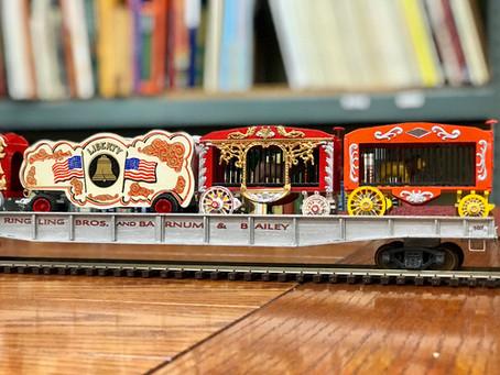 """Big Top"" celebration for LARHF's circus train exhibit at Philippe the Original"
