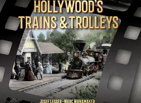 Hollywood's Trains & Trolleys has arrived!