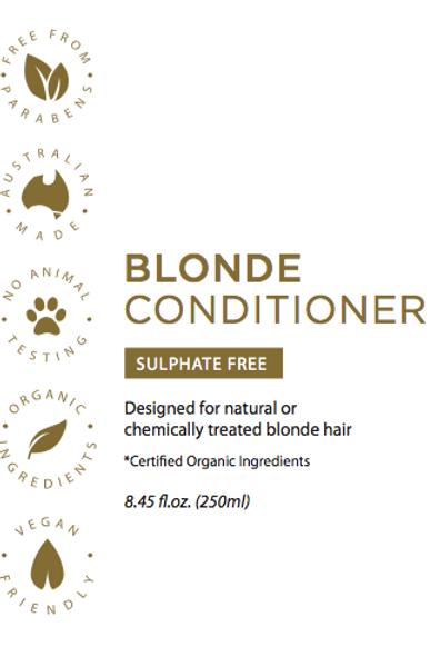 Blonde Toning Conditioner Paraben-free