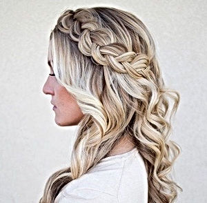 Braided bridal_formal hair