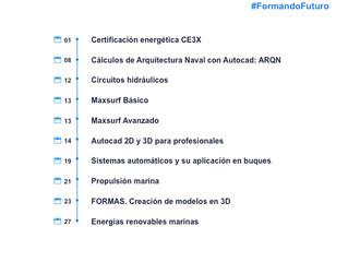 Actividades Fundación Ingeniero Jorge Juan - Julio 2021