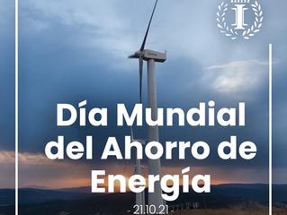 El 21 de octubre es el Día Mundial del Ahorro de Energía
