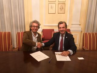 Firma del Convenio marco de colaboración entre el Instituto de la Ingeniería de España y la Asociaci
