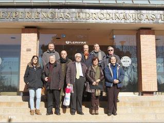 Visita al Centro de Experiencias Hidrodinámicas de El Pardo (CEHIPAR)