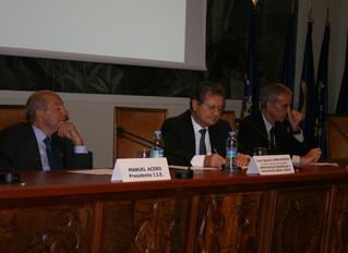 Crónica de la Jornada del 17 de octubre de 2011. Conferencia sobre la reforma estructural de la nave