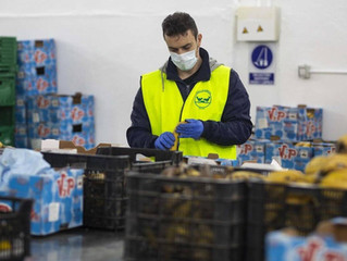 Recaudación de la ayuda del IIE al Banco de Alimentos