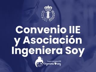 Convenio de colaboración entre el IIE y la Asociación Ingeniera Soy