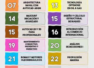Fundación Ingeniero Jorge Juan - Centrados en tu futuro. Cursos para el mes de Octubre.