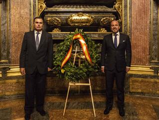 Los Ingenieros Navales celebran 250 años de historia homenajeando a Carlos III, su mentor.