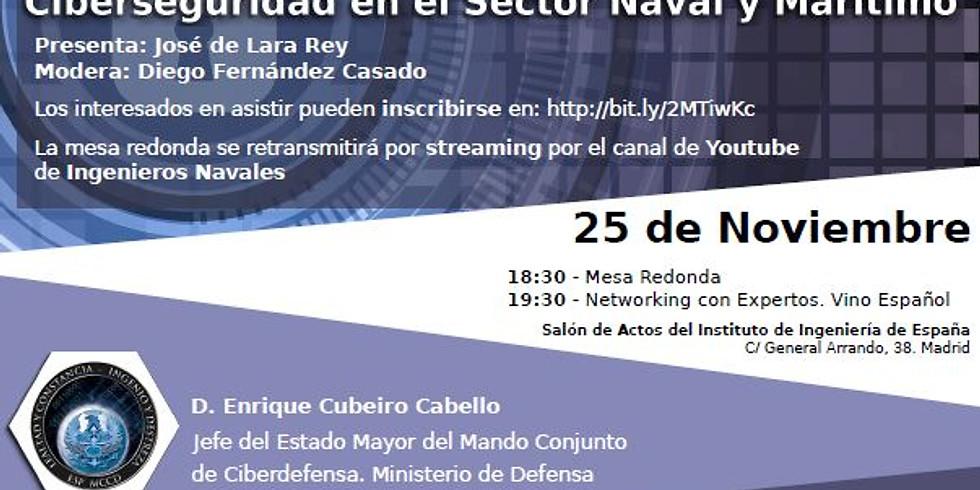 Ciberseguridad en el Sector Naval y Marítimo. Ingenieros Navales y Oceánicos Programa BE Leaders