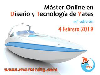 Máster On line en Diseño y Tecnología de Yates 14ª Edición
