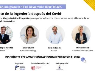 Seminario online gratuito: El propósito de la ingeniería después del COVID-19