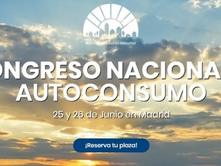 1º Congreso Nacional de Autoconsumo