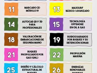 Fundación Ingeniero Jorge Juan - Calendario de Formación 2021