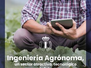 Se necesitan ingenieros agrónomos, un sector atractivo, tecnológico y de futuro