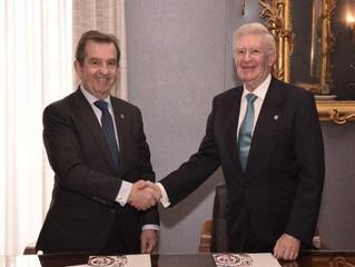 Acuerdo de colaboración entre el IIE y la RAI.