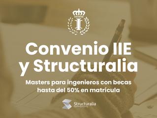 Convenio de colaboración entre el IIE y Structuralia