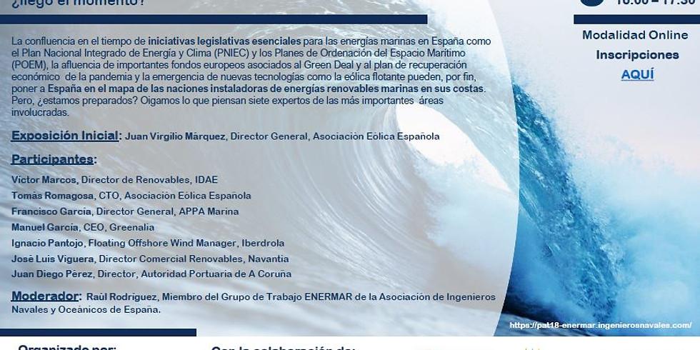 MESA REDONDA El despegue del sector de las energías marinas en España: ¿llegó el momento?