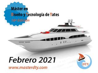 Máster en Diseño y Tecnología de Yates - Convocatoria 2021