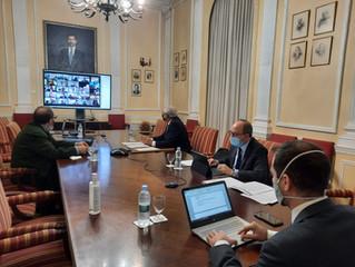 Primera reunión del Grupo de Trabajo del Foro de Alto Nivel de la Industria Española.