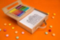 caixa de colorir