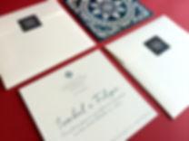 Convite azulejo portugues