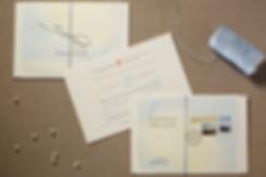 Convite destination wedding