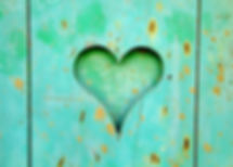 Canva - Green Wooden Board With Heart Ho