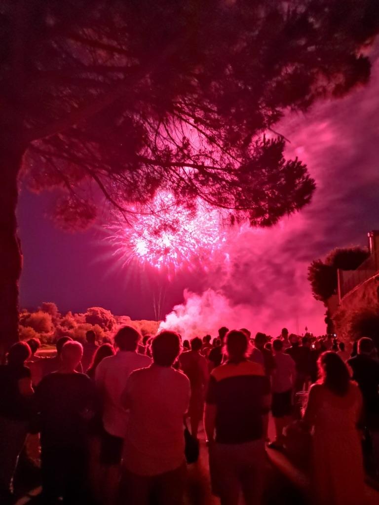 Bastille night Sainte-Foy-La-Grande