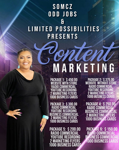 Content Marketing Package 1