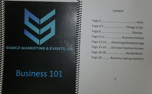 Business 101 Book (Phase 1) Printed Version
