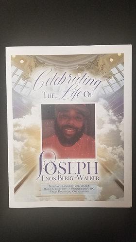 Obituary 11x17 prints only