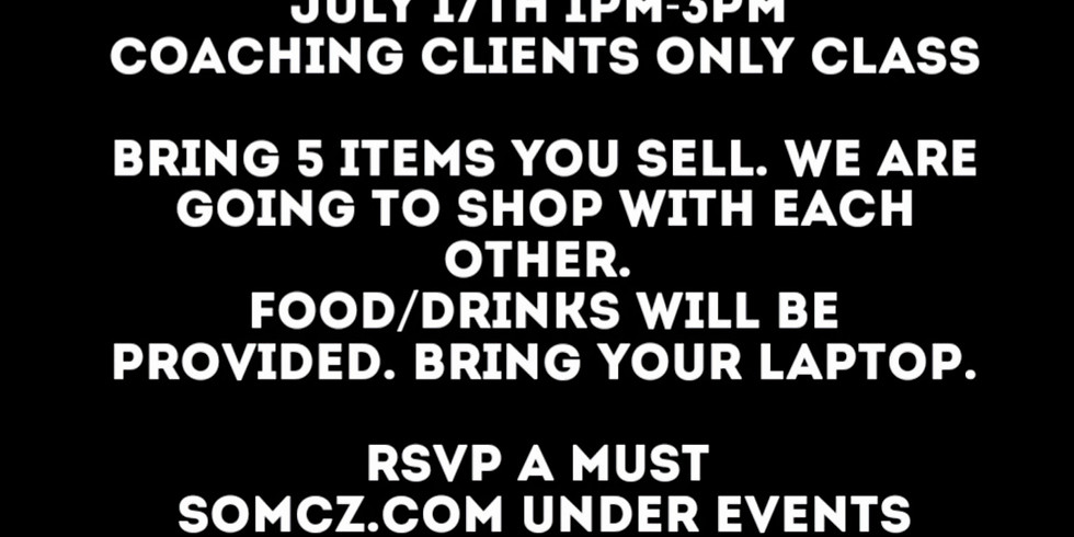 Coaching Clients Only Event