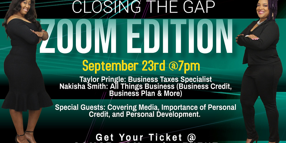 Closing the Gap Zoom Edition