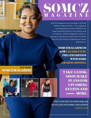 July 6th Edition Magazine Ad