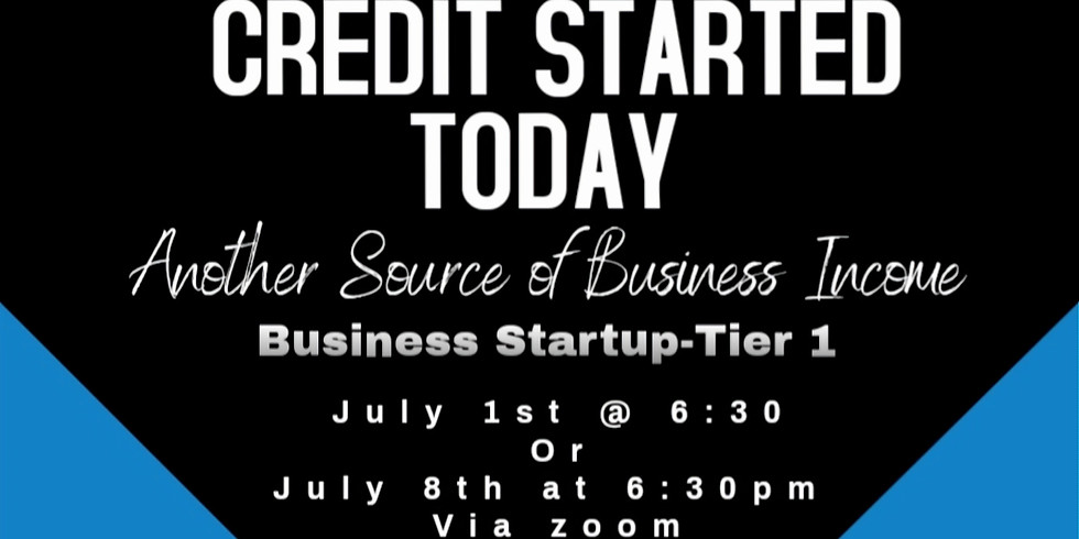 Business Credit Start up Tier 1