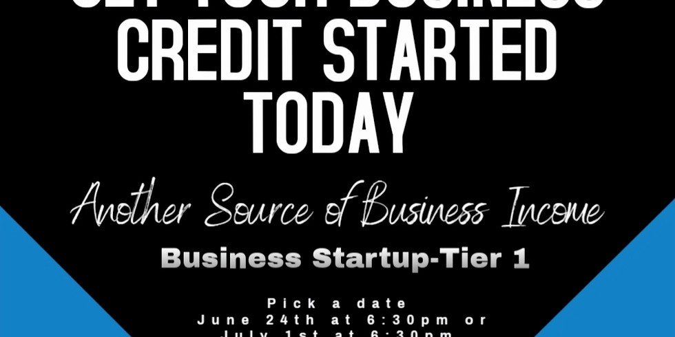 Credit Building (Starter & 1st Tier)