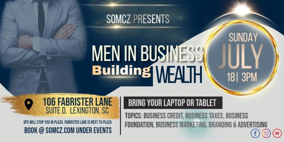 MEN IN BUSINESS