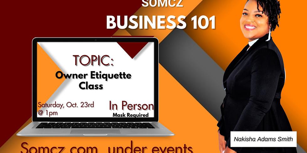 Owner Etiquette Class