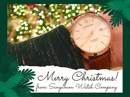 来自Sangamon表业公司的圣诞祝福!