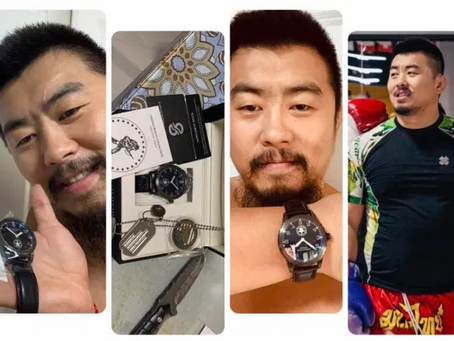 China's MMA fighter Xu Xiaodong Loves Microbrand Watch