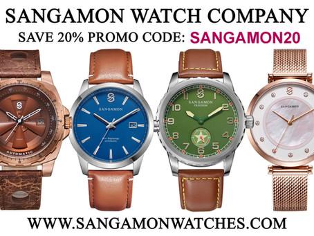 祝贺Sangamon 腕表品牌今天两周岁!