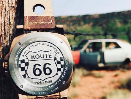 美国SANGAMON腕表缘起:66号公路的故事