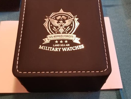 My Journey:  Creation of the US Armed Forces Military Watches