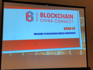 Brian Su delivers presentation at Blockchain World Conference