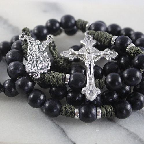 St. Michael Battle Rosary - Jumbo Beads
